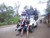 Rombongan ke Semeru